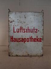 2.WK Luftschutz Hausapotheke Medizin Hänge Schrank Apotheke Deko Loft Industrial