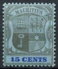 Mauritius 1900-1905 SG#150, 15c Black And Blue/Blue MH #A88588