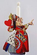Alice in Wonderland Queen of Hearts Kitchen Roll / Toilet Roll Holder