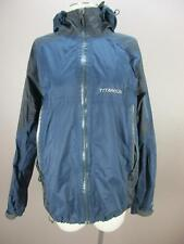 Columbia Titanium Size L Mens Blue Full Zip Omni-Tech Snowboard Ski Jacket 946
