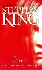 CARRIE by Stephen King paperback FREE USA SHIPPING steven *RAMPAGE and REVENGE*