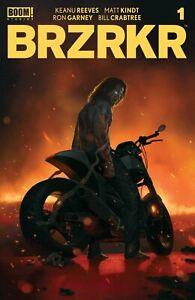 BRZRKR #1 RAHZZAH Trade  Variant  Keanu Reeves NM or better PRESALE