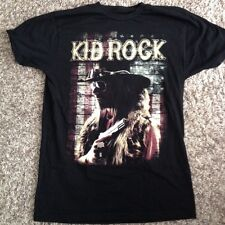 Authentic Kid Rock Men's Small Black Collectible Concert Shirt from 2015 Tour