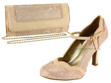 Ruby Shoo Womens Imogen Rose Mary Jane Court Shoes 09152 UK 5 / EU 38