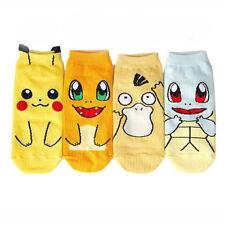 Womens Pokemon Socks Ladies New UK Pokemon Go Pikachu Stocking Filler Gift