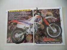 advertising Pubblicità 1993 MOTO GILERA RC 600 R