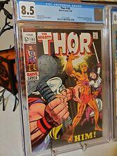 Thor #165 CGC 8.5 1st Appearance of Him (Adam Warlock) not cbcs
