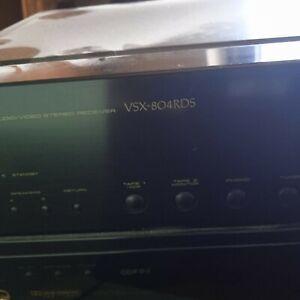 Pioneer VSX 804 RDS Surround-Receiver in schwarz !
