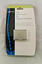 "Universal 2"" LCD Hood/Screen Protector for Digital Cameras-Hard/Plastic/Silver"