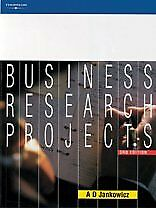 Business Research Projects (3rd Edition)-A. D. Jankowicz