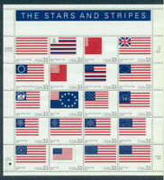SCOTT 3403 STAR AND STRIPES  33ct STAMP SHEET