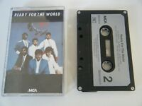 READY FOR THE WORLD S/T SELF TITLED CASSETTE TAPE 1985 SILVER PAPER LABEL MCA