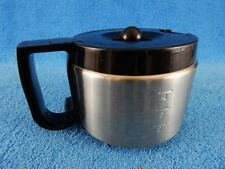 Cuisinart Stainless Steel  Black 4 Cup Carafe  Pot Replacement