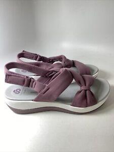 NEW Clark's Cloud Steppers Women's US Sz 10 M Purple EU 41.5 ARLA PRIMROSE SOFT
