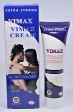 Vimax CREAM Extra Strong MALE VIRILITY ENHANCEMENT KING SIZE SUPER FOAM - 50g