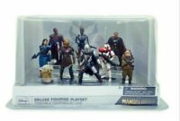 The Mandalorian Deluxe Figurine Playset - 9 Figures New Disney Store Cara Dune