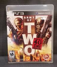 Army of Two: The 40th Day (Sony PlayStation 3, 2010) PS3 Video Game