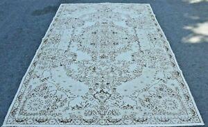 Hochwertig Bohemian Türkischer Vintage Gebiet Teppich Handgemacht Anatolia Wolle