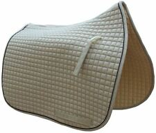 Khaki Beige Dressage Saddle Pad | by PRI Pacific Rim