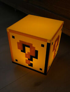 Super Mario Question Block Lamp Licht Frageblock