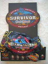 SURVIVOR BUFFS: Cook Islands Black Aitutonga Merge Tribe Buff - NEW
