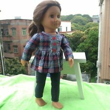 handmade DIY new set clothes for 18inch American girl doll party B513