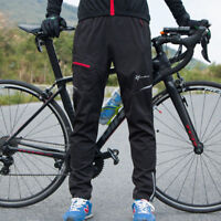 ROCKBROS Thermal Winter Warm Cycling Casual Pants Reflective Trousers Black