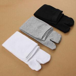 1 Pair Unisex Japanese Kimono Flip Flop Sandal Split Toe Tabi Soft Sport Socks