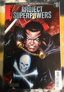 PROJECT SUPERPOWERS #0 (1:40 Benes Variant) - Dynamite Entertainment - N Mint
