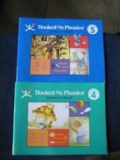 HOOKED ON PHONICS LEARN TO READ Level 5: Blue Workbook /Level 4: Green Workbook