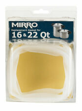Mirro  Rubber  Pressure Cooker Gasket  16 and 22 qt. White