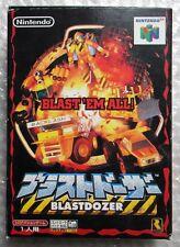 BLASTDOZER NINTENDO 64 NTSC JAP