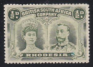 Rhodesia - 1910 - SC 101a - HH - Perf 14