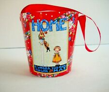 Mary Engelbreit Home is Where You Hang Your Hat Paper Pail Bucket Container