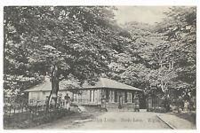 Lancashire Wigan Haigh Lodge Basin Lane Vintage Postcard 29.4
