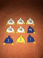 Lego Vintage Football Torsos Bundle England