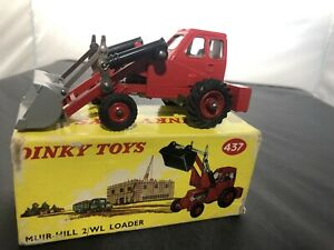 Dinky 437 Muir Hill 2WL Loader, Good Condition in Original Box