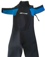 Rip Curl Youth / Kids Shorty Wetsuit Size 10 Short Sleeve Black & Blue