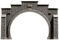 NOCH 58052 Spur H0, Tunnel-Portal, 2-gleisig, 21x14cm #NEU in OVP##