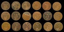1 Centavo 18 pcs. US Philippines Coin 1903 - 1944