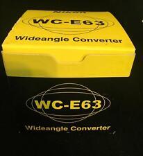 Genuine Nikon Camera WC-E63 Wideangle Converter Japan, With Original Box