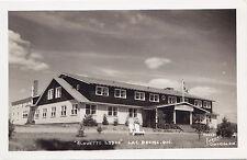 Alouette Lodge LAC BROME Quebec Canada 1940-50 Carte Photo Légaré RPPC