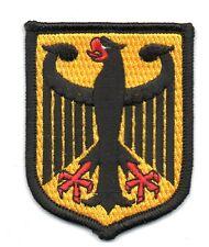 Toppe Toppa PATCH stemma blasone Bandiera  GERMANIA TEDESCA  ricamata