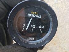 Fiat 124 Spider Fuel Gauge VEGLIA BORLETTI     #5  C#G12