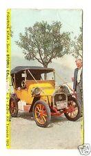 FIGURINA  CARTONATA BRODO STAR SERIE STORIA DELL'AUTO NR 9 ZEBRE AM TORPEDO 1913