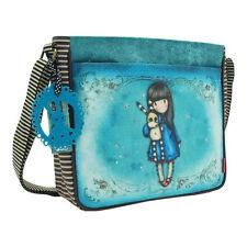 Santoro Hush Little Bunny Handbag – Adjustable Shoulder Strap Blue Girls Gorjuss