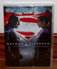 BATMAN V SUPERMAN-EL AMANECER DE LA KUSTICIA-DAWN OF JUSTICE-DVD-NUEVO-SEALED