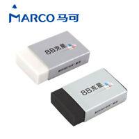 2pcs MARCO Professional Graphics Eraser 8B Eraser Special Drawing Pencil Eraser