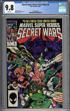 Marvel Super Heroes Secret Wars #6 CGC 9.8 NM/MT WHITE PAGES