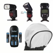 PRO TTL DEDICATED FLASH + CHARGER + DIFFUSER + BATTERIES FOR CANON EOS T3 T3I T5